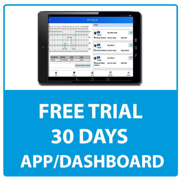 Free Trial 30 Days with APP and Dashboard Access – Rollingtrans